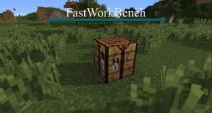 Minecraft, fastworkbench mods,